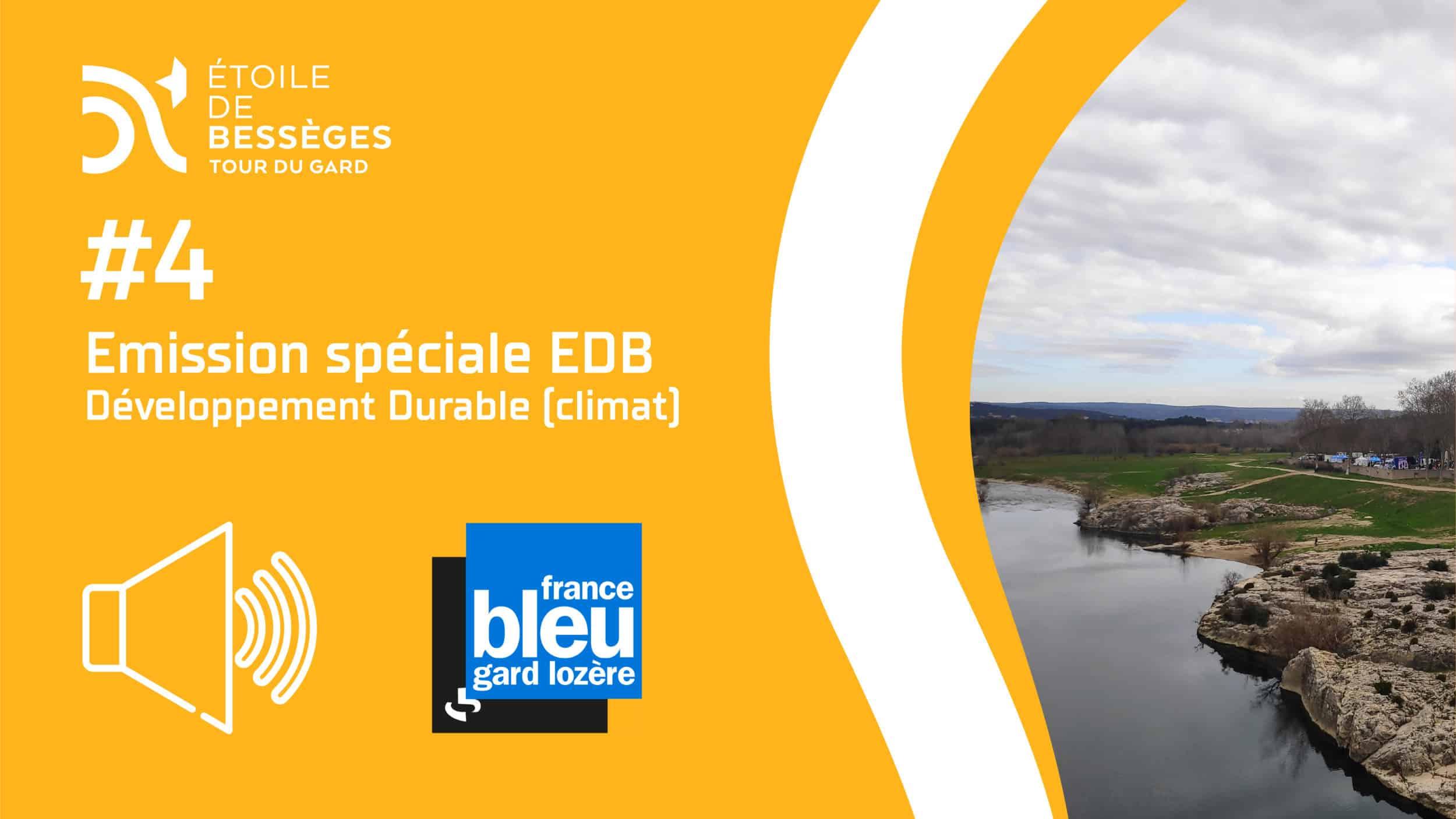 #4 – France Bleu Gard Lozère – Émission EDB (Développement Durable)