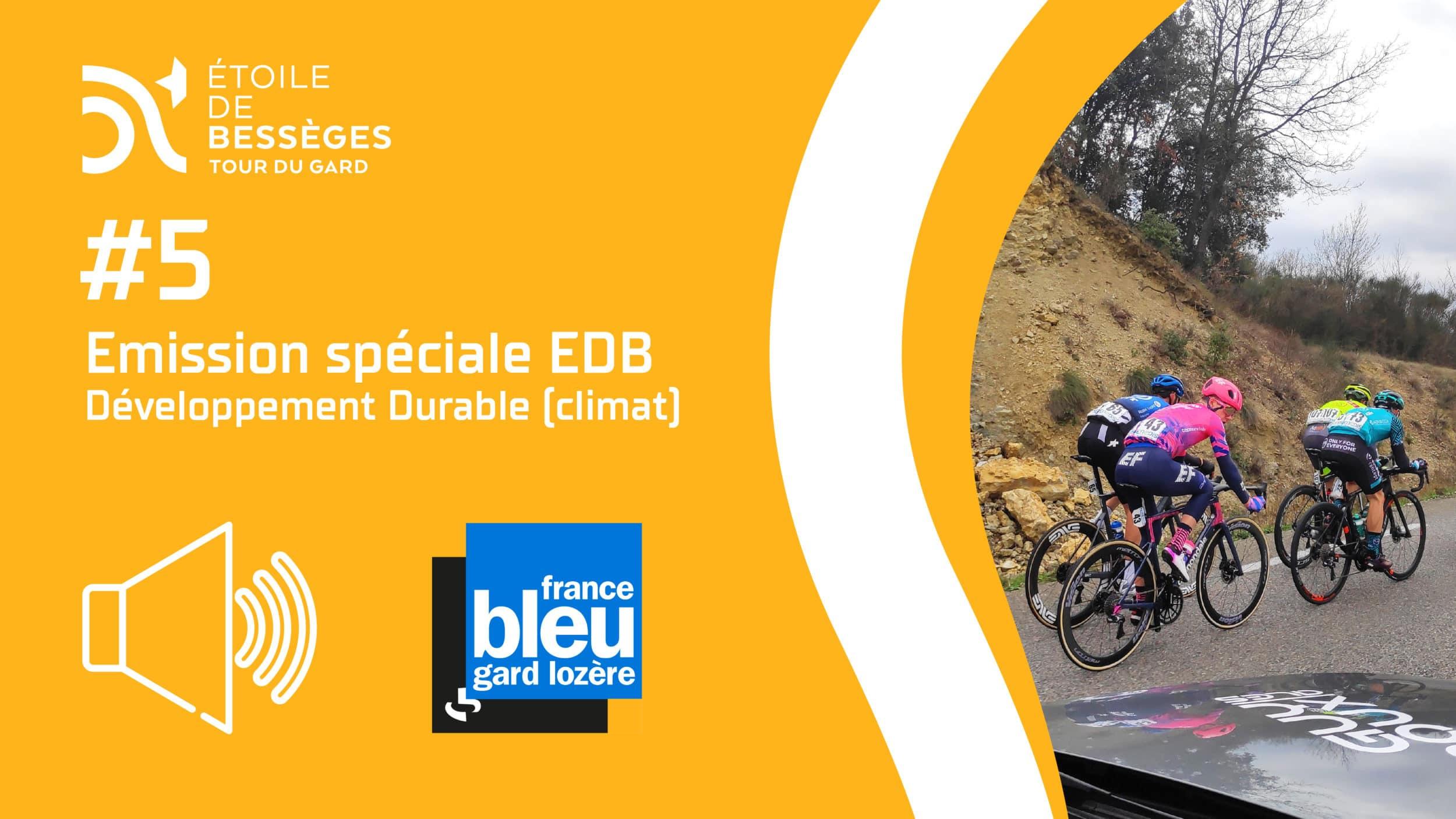 #5 – France Bleu Gard Lozère – Émission EDB (Développement Durable)